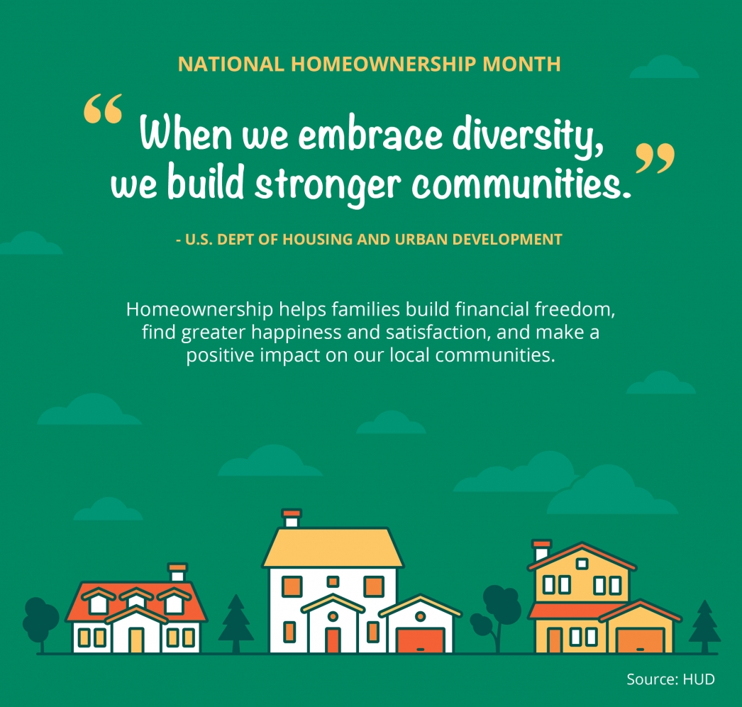 National Homeownership Month [INFOGRAPHIC]   MyKCM